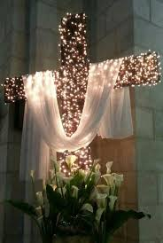Easter Decorations Church by He Is Risen Christ Is Risen Indeed Alleluia Photo Via