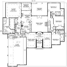 Ranch Floor Plans Best 25 Four Bedroom House Plans Ideas On Pinterest One Floor