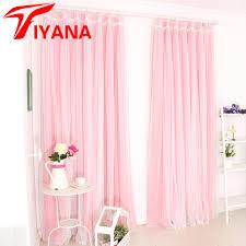 rideau pour chambre fille qualité coréenne dentelle ombre tissu rideau voile rideau
