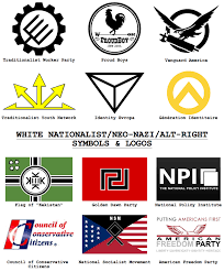 Golden Dawn Flag 2017 Symbols And Logos Of White Nationalists Neo And The