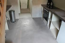 sol cuisine béton ciré sols en béton ciré entreprise les ateliers de vérone