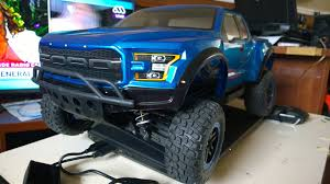 proline body ford raptor 2017 on traxxas slash traxxas slash