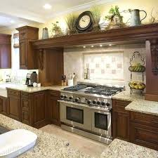 Above Kitchen Cabinet Decorations Cabinets Ideas Ideas To Decorate A Kitchen With White Cabinets And