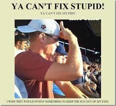 Cap Memes - dunce cap living on a slippery slope