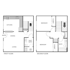apartment floor plans parkway townhomes
