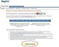 cara membuat paypal online langkah yang benar membuat paypal baru membuat paypal