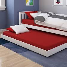bedding metal twin trundle frame â u20ac u201d loft design how to make
