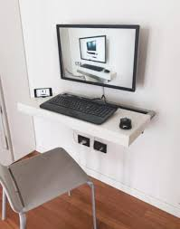 Slim Computer Desk Thin Computer Desk Small Desks For Spaces Foter