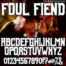 countdown to halloween u0026 inktober day 2 new font foul fiend