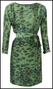 animal print dress fashion for winter 2011 12 women u0027s styles
