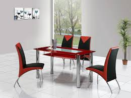 Glass Kitchen Tables by Vinyl Leather Ladder Gold Counter Height Glass Kitchen Table And