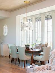 ideas elegant dining room design with drum chandelier and rustic