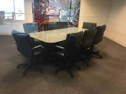 Granite Conference Table Used Office Furniture For Sale By Cubicles Com