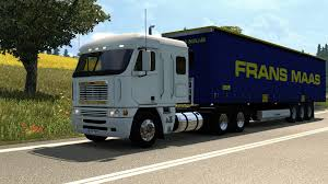 minecraft truck freightliner argosy v2 1 truck ets2 mod