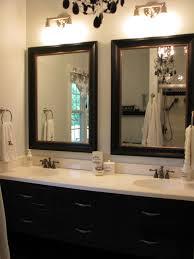 Pinterest Bathroom Mirror Ideas Stylish Mirrors In Bathrooms Best 25 Framed Bathroom Mirrors Ideas