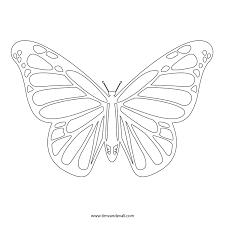 margarita outline monarch butterfly stencil printable graffics and designs callore