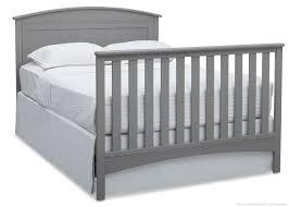 Delta Canton 4 In 1 Convertible Crib Black by Baby Crib Mattress Dimensions Mattress