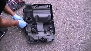 vw polo 1 2 oil u0026 filter service battery change and spark plugs