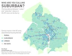 Map Dc Find Out Where The Suburbs Begin And End In Washington D C
