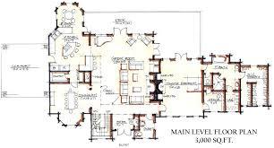 cabin home floor plans custom log home floor plans sle 4 big sky color view side custom