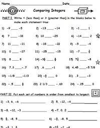 all worksheets integer worksheets printable worksheets guide
