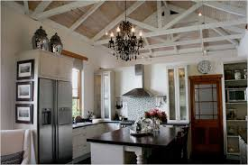 vaulted ceiling living room comfortable 20 kitchen with vaulted ceiling on living room with