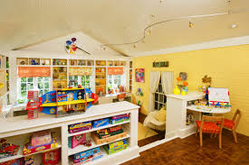 playroom shelving ideas simple metal toys shelves in the nearby playroom decorating ideas