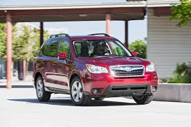 red subaru forester 2016 2016 subaru forester 2 5i limited first test review