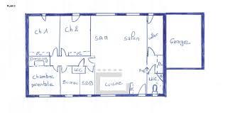 plan maison 80m2 3 chambres plan maison rdc 3 chambres 80m2 avec homewreckr co