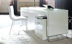 White Reception Desk Lumiere High Gloss Office Desk High Gloss Office Desk Uk S005