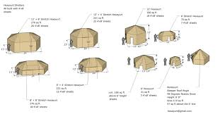 Calculate Square Footage Of A House Hexayurt Playa Appropedia The Sustainability Wiki