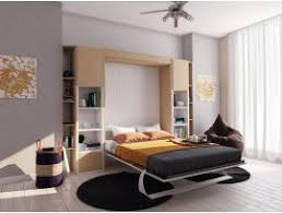 space saving wall beds with additional storage options