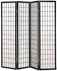 Folding Screens Room Dividers by Room Divider 4 Panel Privacy Folding Screen Home Office Fabric