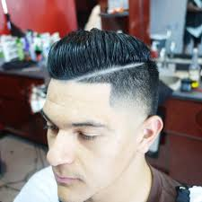 awesome comb over taper with line shop u2013 hard part combover check