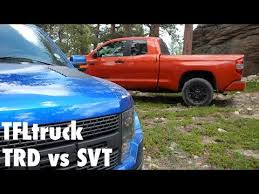 ford raptor vs toyota tundra exclusive 2015 toyota tundra trd pro vs ford f 150 svt raptor