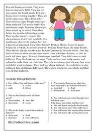 brilliant ideas of esl beginner reading comprehension worksheets
