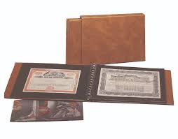 photo album supplies stock bond certificate supplies safe collecting supplies www