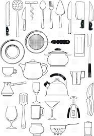 royalty free coloring pages free coloring pages kitchen utensils