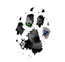 wolf print by darkmoonwolf21 on deviantart