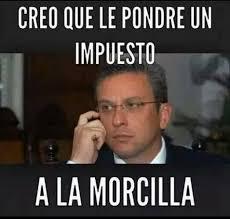 Meme Alejandro Garcia Padilla - manchada la imagen del gobernador por impuestos no paran los memes