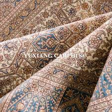 Kashmir Silk Rugs Yuxiang Christmas Selling 5x7 Ft 5 Star Hotel Hand Made Silk
