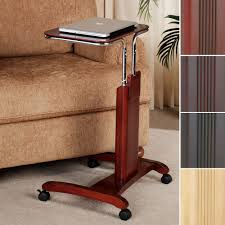 Laptop Desk Cart by Carlyle Adjustable Mobile Laptop Cart