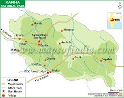 safari zone map kanha national park zones map kanha eco resort luxury
