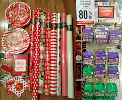 clearance christmas wrapping paper hobby lobby 80 christmas clearance hip2save