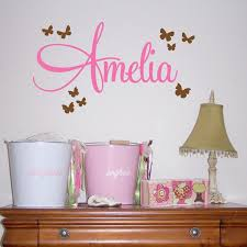 Wall Name Decals For Nursery Name Decals For Walls Superb Nursery Wall Name Decals Personalized