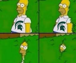 Michigan State Memes - michigan state wrecks millions of brackets as fans mock spartans