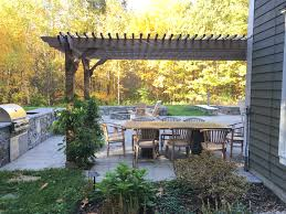outdoor dining covered patio kits pergola depot