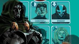 Dr Doom Mask Exclusive Marvel Preview Dr Doom Assembles His Own Team In