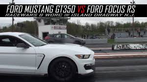 ford mustang chevy camaro ford mustang shelby gt350 takes on chevy camaro ss focus rs on