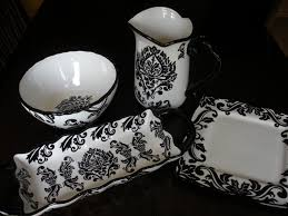 150 best black white dishes and stoneware images on
